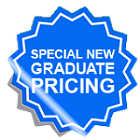 Special New Graduate Pricing